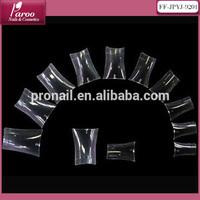Duck feet nail tips/ duck feet tips/Clear color/ 500 pcs per opp bag false nail tips FF-JPYG-9202