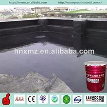 Elastomeric double component polyurethane non-curing rubber bituminous waterproofing coating