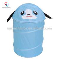 Blue Animal Pattern Waterproof Laundry Bag
