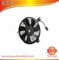 Ventilador do radiador e motor do ventilador para toyota corolla ae 88-90 92, tyk-1101a 88590-01020,88590-01030