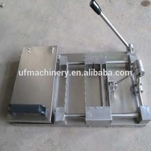 venda quente manual satay espeto máquina 0086 18790866516