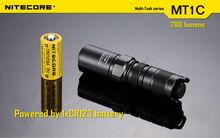 high power emergency Torch flashlight/Nitecore LED Flashlight MT1C 280 Lumens