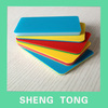 two colors hdpe plastic panel/slab