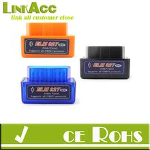 Linkacc-Th159 Super Mini ELM327 V1.5 OBD2 OBD-II Bluetooth CAN-BUS Auto Diagnostic Tool for Windows XP, Vista, Win7, OSX and And