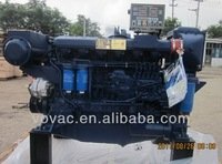 Weichai WP12C400 400hp marine diesel engine with gearbox