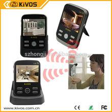 """2.4G 3.5"""" TFT Wireless Video Door Phone Intercom Doorbell Home Security Camera Monitor"""