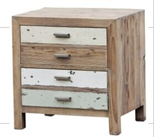 H33129 night stand, 2 drawer bedside, night table
