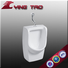 wall hung ceramic corner urinal special design water flush urinal device for sale male urine container
