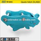 Hitachi ex120 hydraulic quick hitch