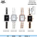 novità 2014 vendita calda donne al quarzo orologio da polso a basso costo