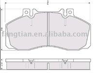 29835 Brake pad for MERCEDES