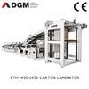 DGM Automatic corrugated cardboard laminating machine,flute laminating machine
