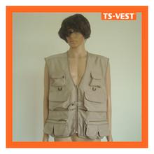 Safety Vest Multi Pockets Fishing Equipment