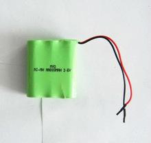 China cheap 3.6V Battery pack nimh/3.6V 800mAh nimh battery pack for toys