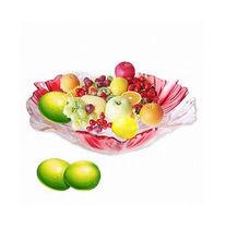 Artificial decorativa de frutas de vidro cristal fruit modelo para decoração de casa