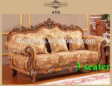 classic baroque furniture high quality fabric sofa 3048B#