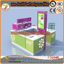 12*12 FT Mall Juice Bar Kiosk wooden furniture food