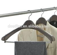 Plastic Broad Shoulder Hangers/Broad Shoulder Hangers with Bar
