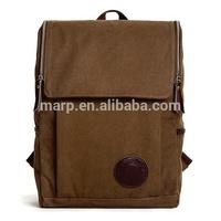 most hotsale men vintage canvas hiking backpack