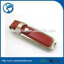 free shipping flash usb leather case high speed original brand chipset large capacity usb 64gb