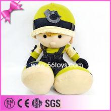 Promotional cartoon glowing stuffed sex boy plush toy
