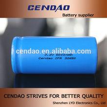 5000mah li-ion battery 32650 / rechargeable battery 32650/ li-ion ifr 32650 battery