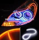 hot sale D12V dual color Flexible LED drl/daytime running light