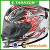 ABS Material Pentagram Pattern Motorcycle Full Face Helmet for Racing Bike