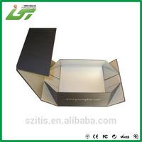 Fancy fold down storage box with custom design