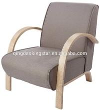 bentwood single seat modern sofa chair
