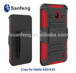 Useful mobile cover for Nokia lumia 630 case/useful cellphone case for Nokia 630 hybrid case/for Nokia 630 shockproof case