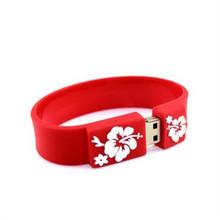 Promotional Gifts silicone bracelet usb flash