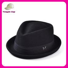 Men's 100% Wool Felt Soft Crushable Stingy Brim vintage fedora hats