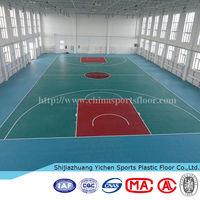 PVC Sports Basketball Flooring