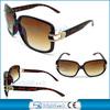 fashionable sunglasses with metal decoration imitation sunglasses
