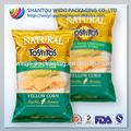 Para los paquetes de bolsa de papas fritas/paquetes de plástico bolsa papasfritas/bolsa de plástico de material primas