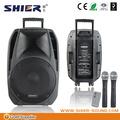 barato e moderno da forma mini rádio fm usb carro falante em forma