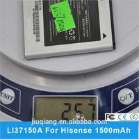 3.7V 1500mah Factory For Hisense Li37150A battery Rechargeable Battery