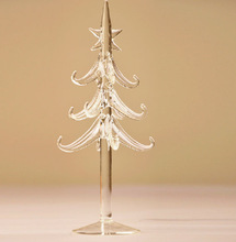 Exquisite glass christmas tree ornaments