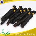 suave e natural cor natural melhor adaptador de qualidade da classe barato ponytail cabelo humano extensões