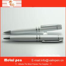 white heavy ball pen for promotion