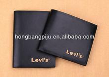 Top Quality Genuine cow leather travel wallet men travel wallet men for men
