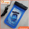 Swimming PVC waterproof cell phone bag IPX8 waterproof phone bag