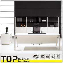 Fashion Design White Color Wooden Office Furniture