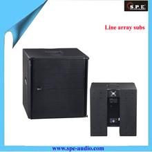 SPE Audio Single 15 inch line array subwoofer LA-1AD/SUB active line array subwoofer
