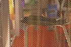 2014 shengxin wire mesh shower curtain