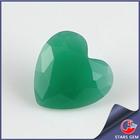 3mmx3mm Heart Cut Malaysian Jade