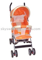 New Baby Stroller (8362-3 Orange)