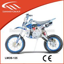 wholesale dirt bike 125cc big wheel with electric start or kick start