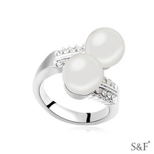 16058 chinese jewelry pearl fashion jewelry ring